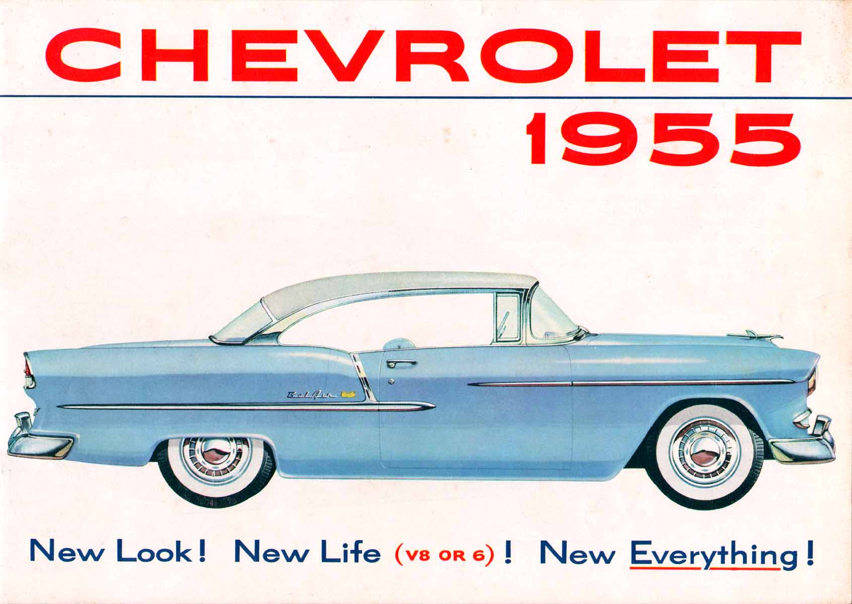 Curbside Classic 1957 Chevrolet Two Ten Overexposed Sales Brochure After Many Years Of Being Perched Atop The Chart Powered Exclusively By Six Cylinder Engines Since 1929 Introduced Their First V8 Engine