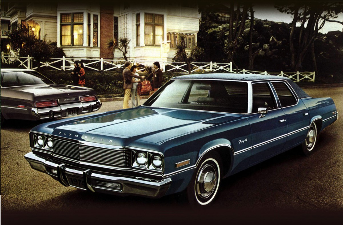Curbside classic 1973 plymouth fury iii sedan fuselage friday - 1970 plymouth fury gran coupe ...