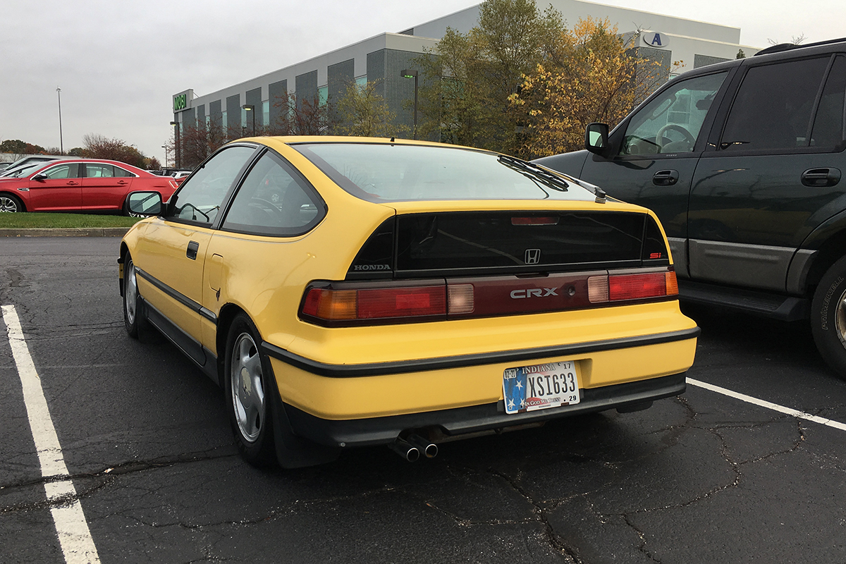 Curbside Classic: 1990 Honda Civic CRX Si – A Little Zip On The Commute