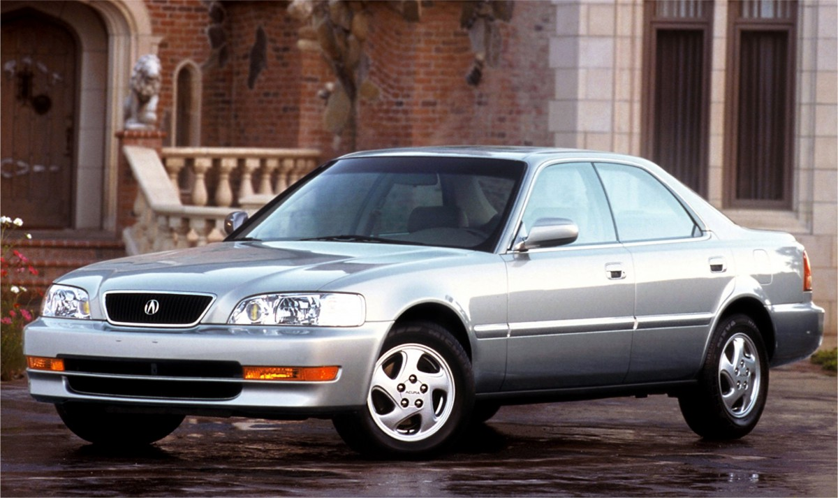 Curbside Clics: 1997 Acura 3.2 TL and 2.5 TL – Not Out To Greener