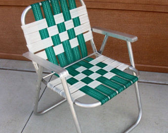 old metal chairs white leather for living room my patio classics steel lawn a restoration project jpc grandma s were so different from our own which those aluminum frames with the woven plastic webbing that always seemed to tear when you sat on