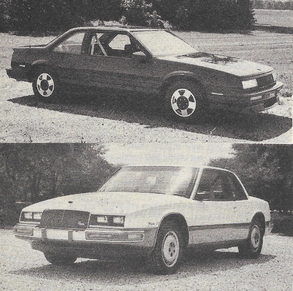 Vintage Review: 1987 Buick LeSabre T-Type and Buick Riviera T-Type ...