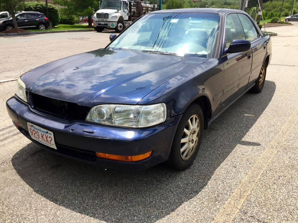 Curbside Classics 1997 Acura 32 Tl And 25 Not Out To Greener. In Addition To Its V6 The 32 Tl Added Features Such As Standard Leather Upholstery 4way Power Passenger's Seat Moonroof Remote Keyless Entry. Acura. 1997 Acura Tl 3 2tl Belt Diagram At Scoala.co