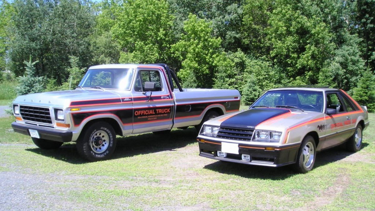 Someone other than GM finally got a crack at the Pace Car duties for 1979. With the Ford Mustang selected as the Pace Car Ford did not miss the opportunity ... & Indianapolis 500 Official Trucks: Special Editions 1974-1984 markmcfarlin.com
