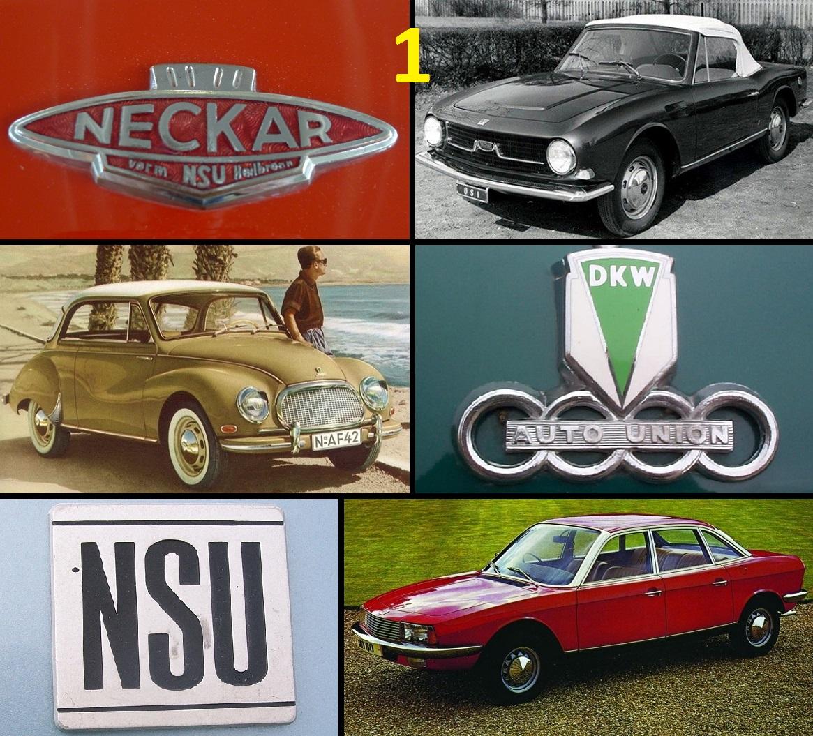 Automotive History: German Deadly Sins (The Neckarsulm Chronicles ...