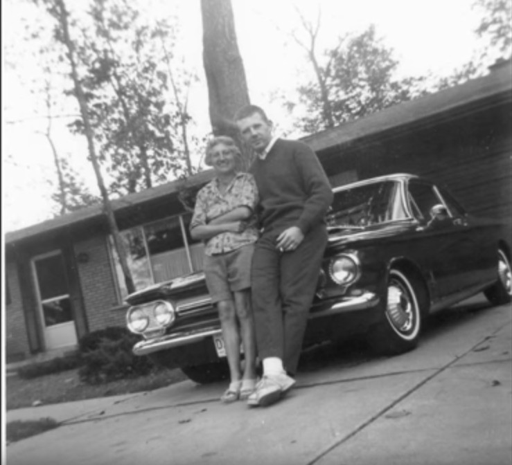 Vintage Snapshots: Me and My Corvair