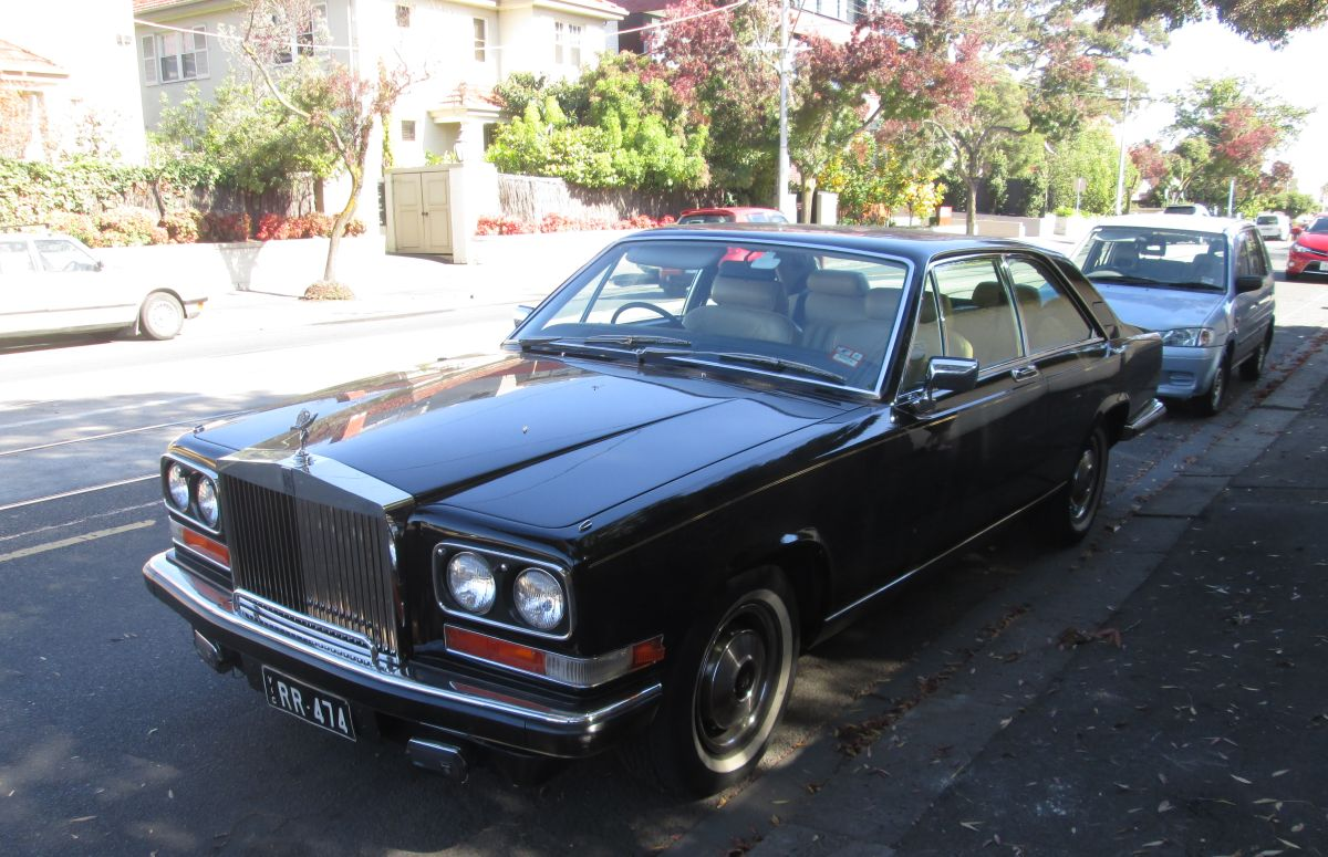 Curbside Classic: 1981 Rolls Royce Camargue – Much Ado About Nothing?