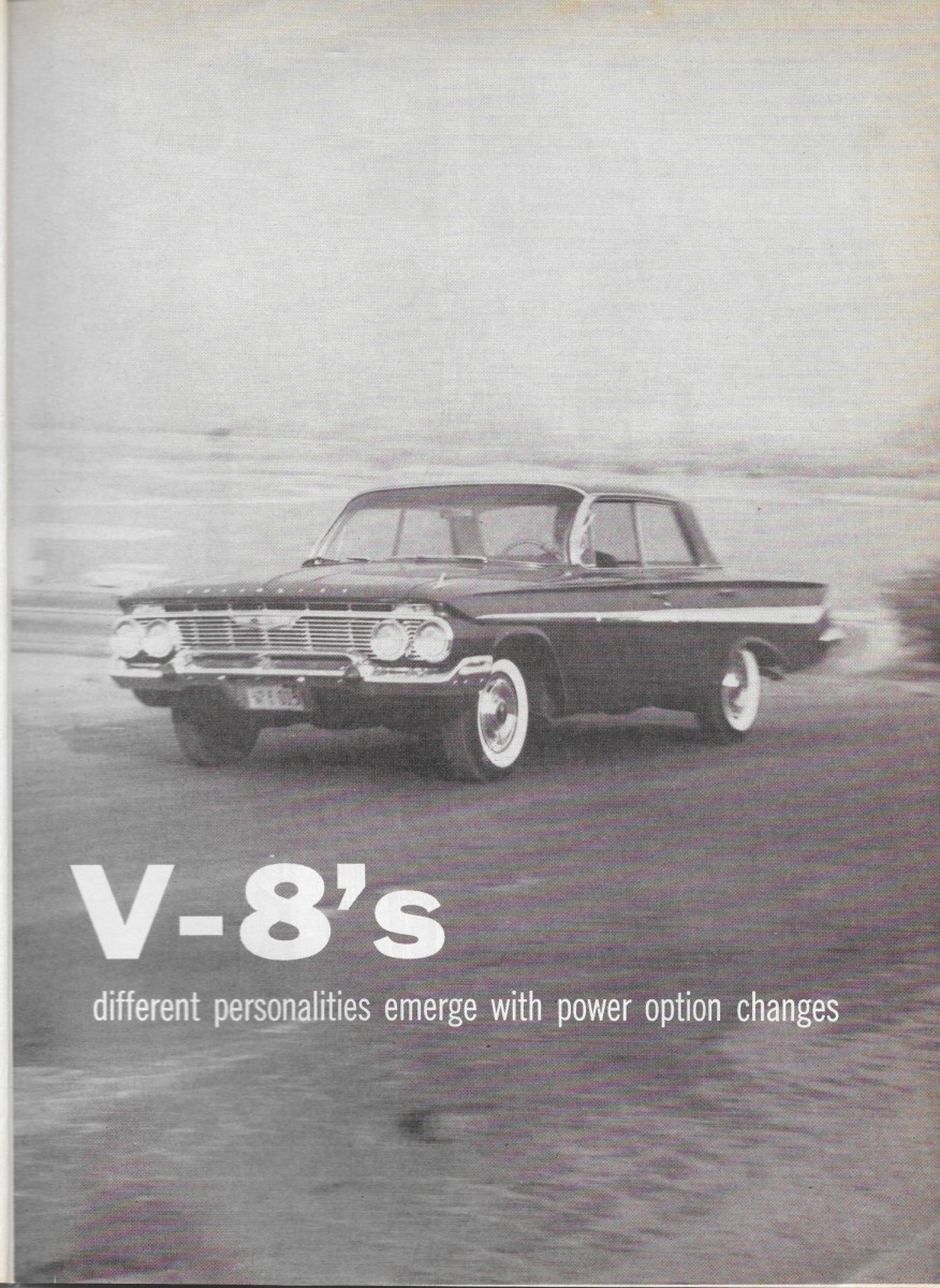 vintage comparison test 1961 chevrolet impala dodge dart. Black Bedroom Furniture Sets. Home Design Ideas