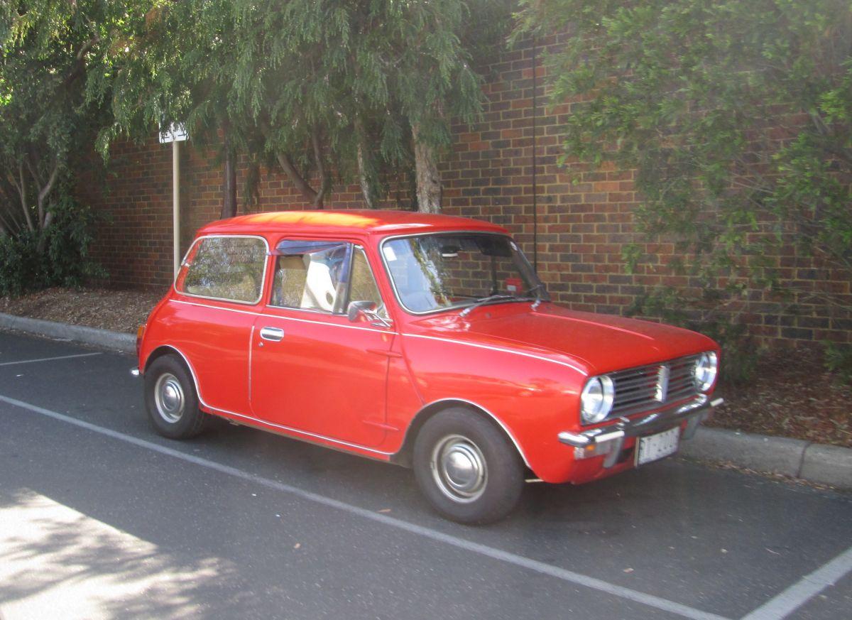 Cc Outtake 1978 Leyland Mini Still Shopping
