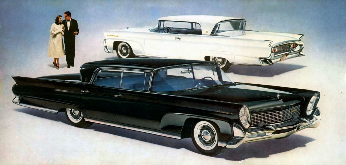 Cold Comfort: 1958-60 Lincoln Continental – Craziest Factory Air