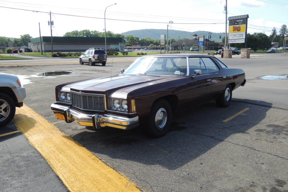 All Chevy chevy classic 2005 : Curbside Classic: 1975 Chevrolet Impala – Of Caesar, Antelopes ...
