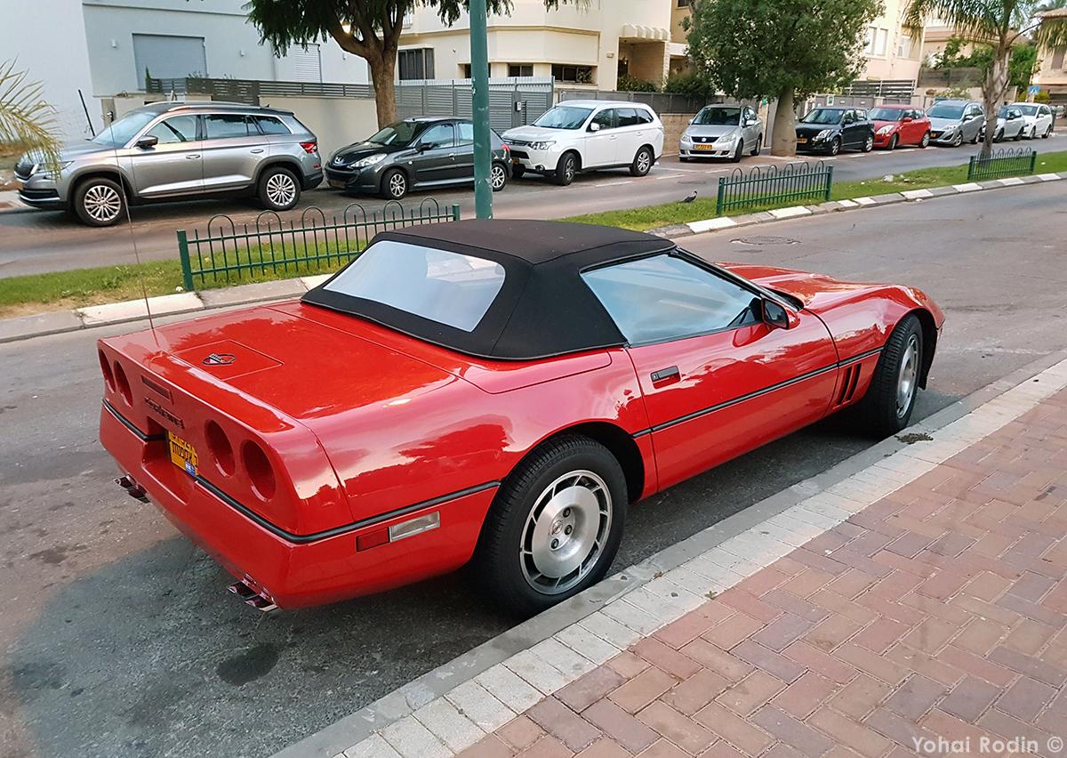 CC Outtake: 1986 Chevrolet Corvette C4 Convertible – A