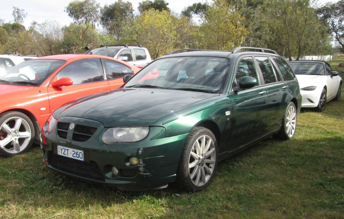 The MG ZT-T is a variation on the Rover 75, which was developed when BMW  owned Rover in the mid-90s. It seems that the Rover was developed as a ...