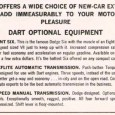 I've long had a fixation on the lack of four speed transmissions being available on American compacts in the 1960s. The standard three speed manual transmission was a relic from […]