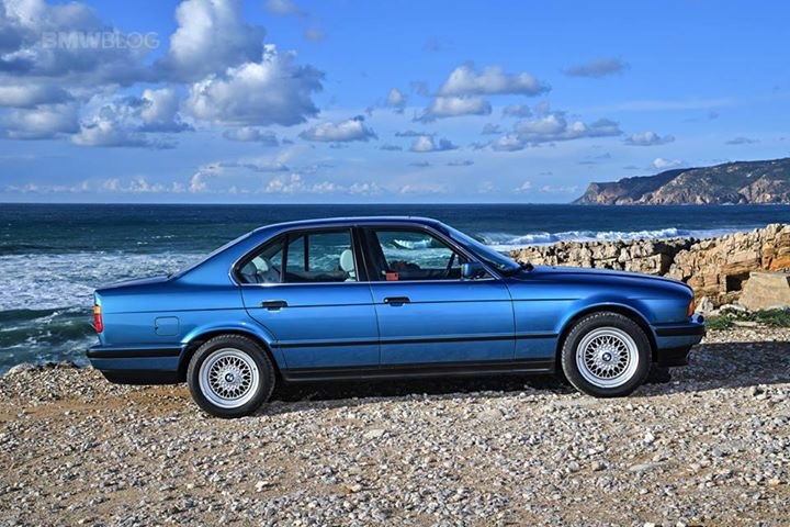 Curbside Classic 1992 Bmw 525i E34 The Young Professional