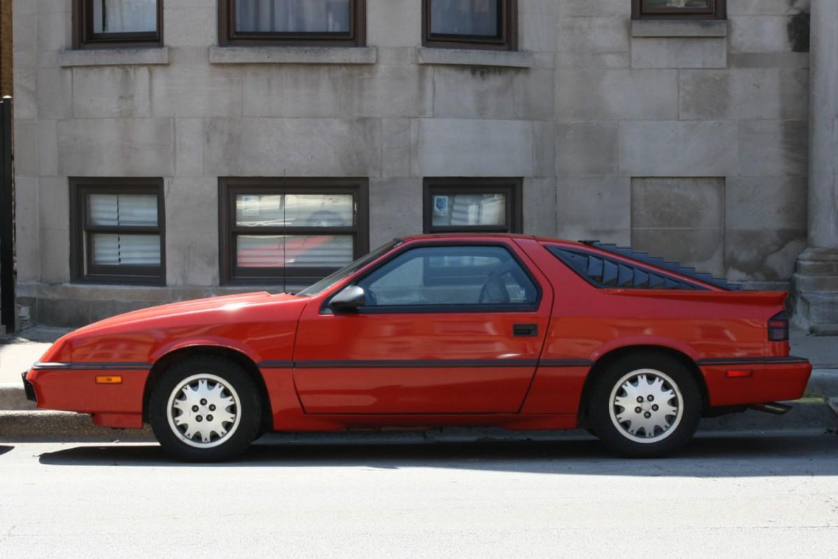 Curbside Clic: 1987 Dodge Daytona Pacifica – An Impressive ...