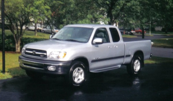 Front view of Tundra pickup