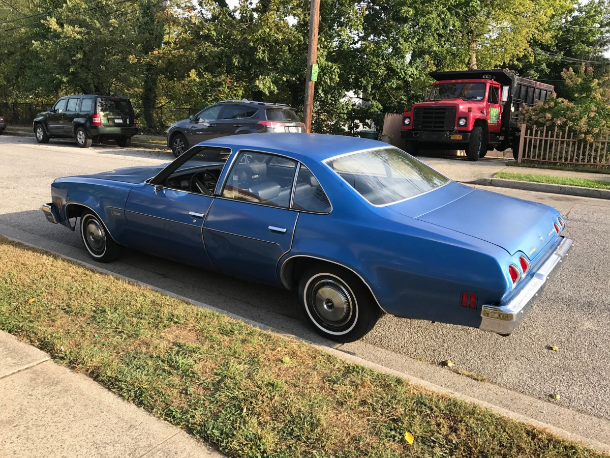 Curbside Classic: 1973 Chevrolet Chevelle Deluxe Sedan – In Search ...