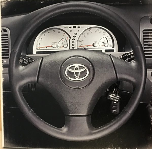 2002 Camry SE steering wheel