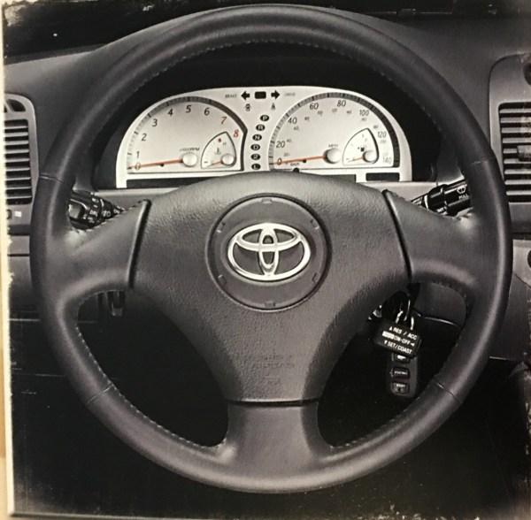 2002 Camry SE steering wheel