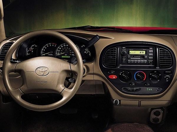 Dash of Toyota Tundra