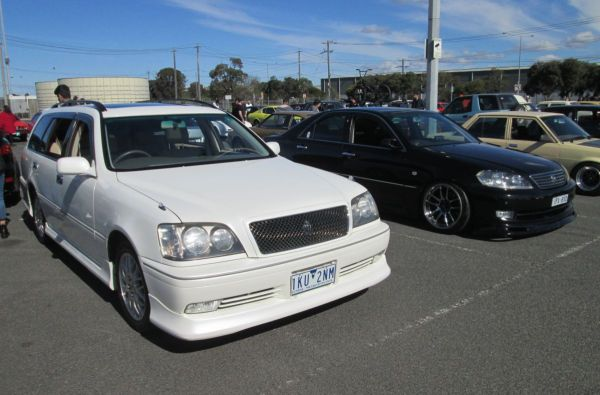 More Crown Variants A 2003 Crown Athlete Wagon Yes