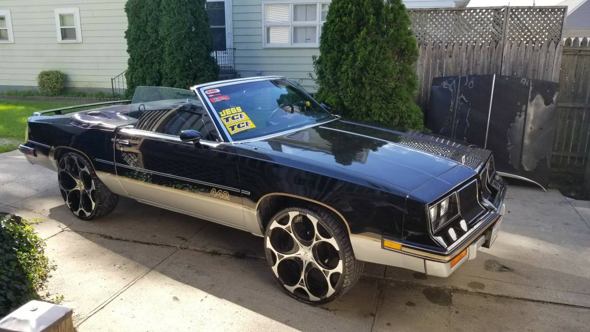 "CC For Sale: 1986 Olds 442 – ""stunt or race-ready"