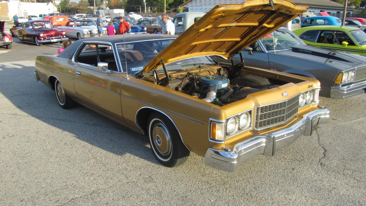 Classic American Car Mercury