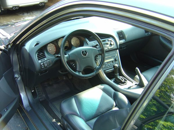 Acura CL Type S driver area