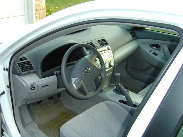 2007 Toyota Camry CE interior