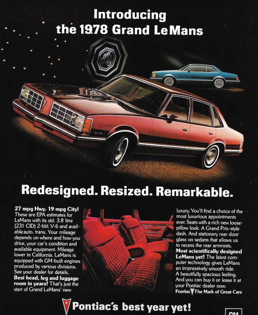 Curbside Classic: 1978-81 Pontiac LeMans – Green With Envy