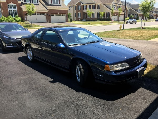 89 Thunderbird SC Front View