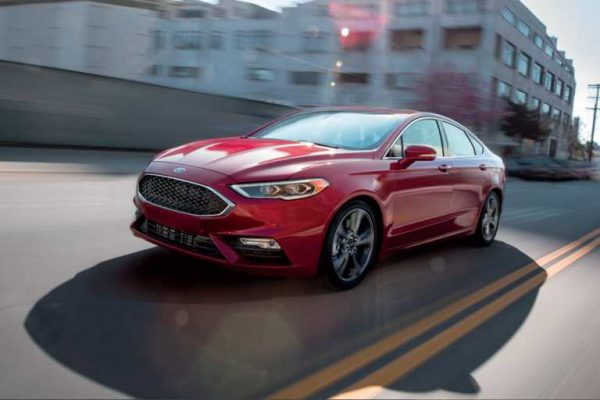 Year Ford Fusion Sales...