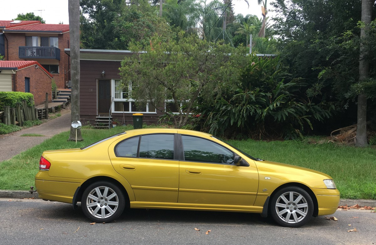 Curbside Classic: 2002-05 Ford BA Falcon – One Of The