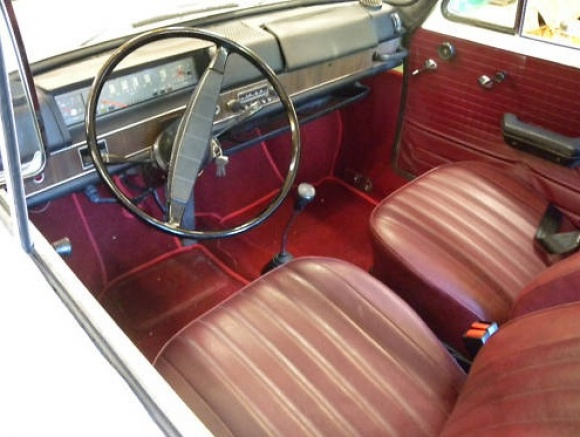 The Interior Made A Decidedly Less Sporty Impression With