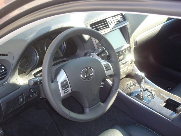 Driver compartment of 2012 Lexus IS250