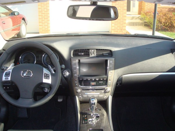 2012 Lexus IS Dashboard
