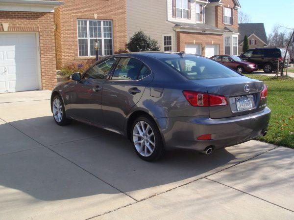 Alternate rear view of 2012 Lexus IS 250