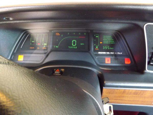 Digital dash for 89 Thunderbird LX