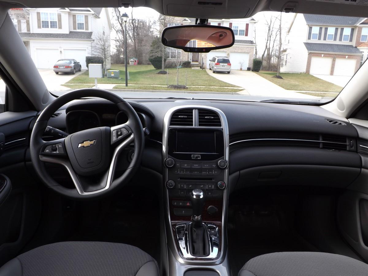 COAL: 2013 Chevrolet Malibu LT: Generic, Inoffensive Car
