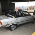 "I came across this interesting car which looked either abandoned, stolen or both.  After some investigation, it turns out it is a Renault 9 GTS ""convertible"".  And it gets used […]"