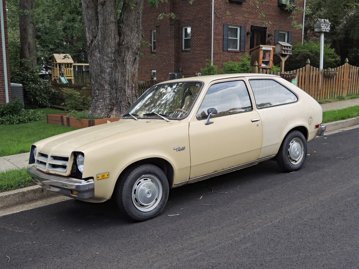 Curbside Classic: 1977 Chevrolet Chevette – An Econobox For Garden ...