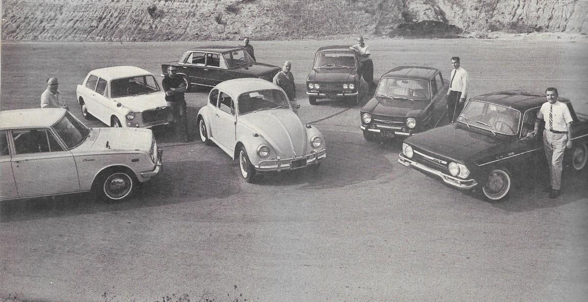 Vintage Comparison Test: 1967 Economy Imports – Road Test Reviews A ...