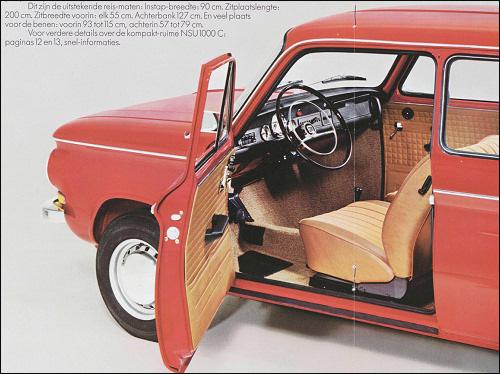 Automotive History Nsu Prinz The 4 Cylinder Models Part