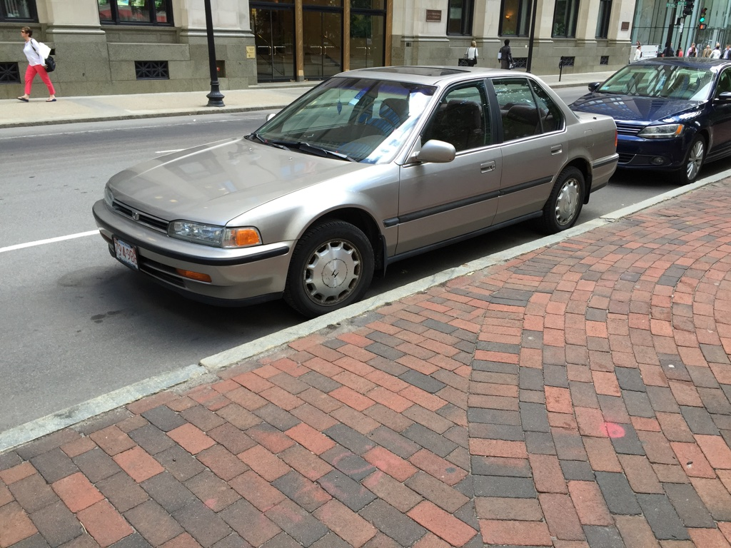 Curbside Classic 1992 Honda Accord Ex Simply The Best 1989 Oldsmobile Cutlass Supreme 28l Under Driver Dash Fuse Box Diagram Whats There To Be Said About That Hasnt Been Already It Consistently Ranks Among Top Ten Selling Vehicles In America