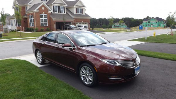 2016 Lincoln MKZ Front