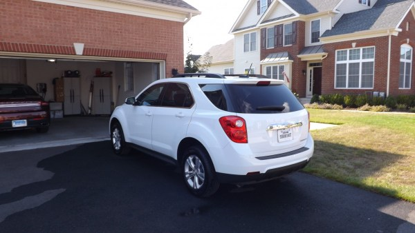 2015 Chevrolet Equinox LT rear