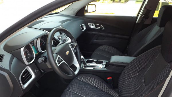 Interior of 2015 Chevrolet Equinox LT