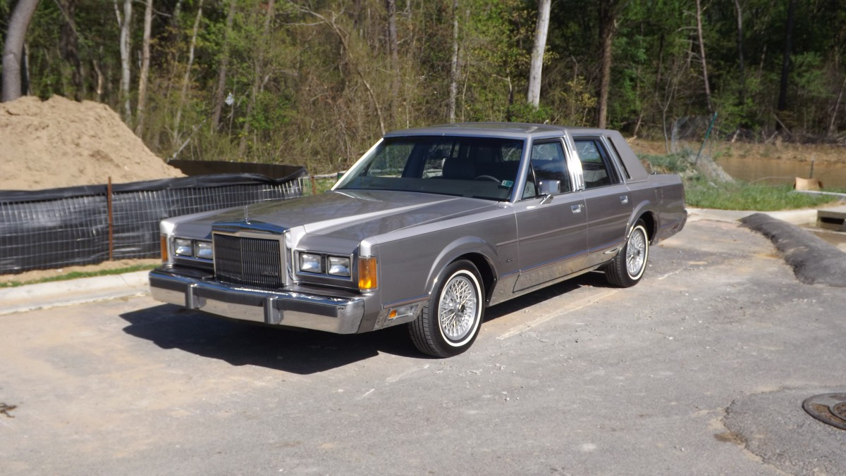COAL: 1989 Lincoln Town Car Cartier – Now, That's More Like It