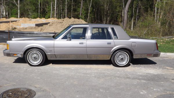 1989 Town Car Cartier side view